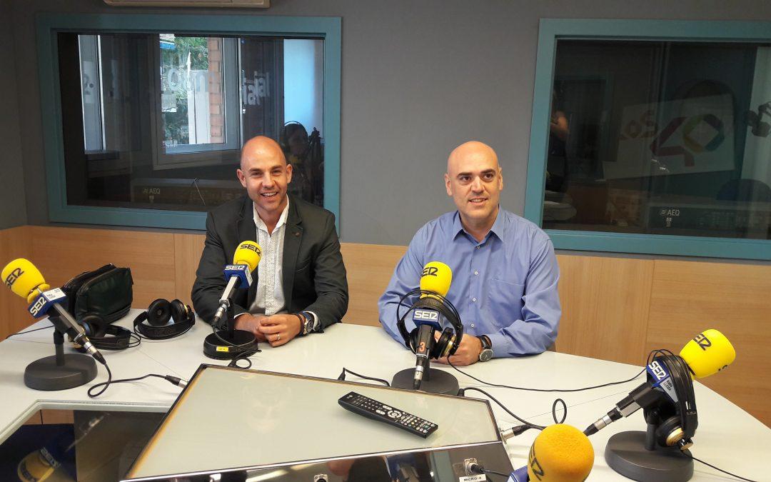 Cardionlive explica el funcionament de la seva nova aplicació per atendre primers auxilis de forma immediata a Ràdio Lleida Cadena Ser