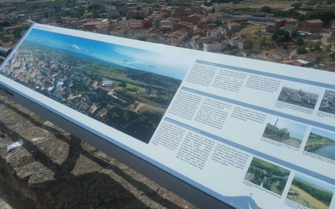 In Situ instal·la dos miradors panoràmics al Sagrat Cor d'Alguaire
