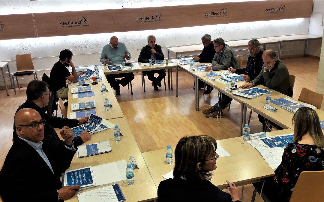 El CEEILleida celebra el seu consell directiu i la junta de patrons