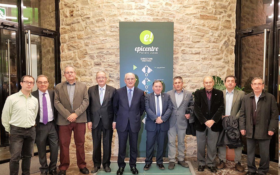Acord de col·laboració per impulsar l'economia  del Pallars Jussà i Sobirà