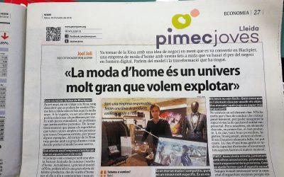 Entrevista a Joel Joli, soci cofundador de Blackpier, en la pàgina de Pimec Joves del diari Segre