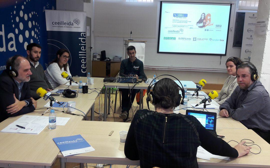 GLOBALleida, Agropig, Grvppe i Randombox, protagonistes en el programa 'Empresaris' de Ràdio Lleida