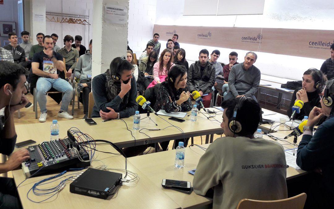 Les empreses Invelon Technologies, Kiwisac i Mediaponent, i UGT_Terres de Lleida, protagonistes del programa 'Empresaris' de Ràdio Lleida