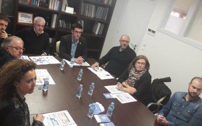 Regidors del grup municipal del PDeCAT a l'Ajuntament de Lleida visiten el CEEILleida