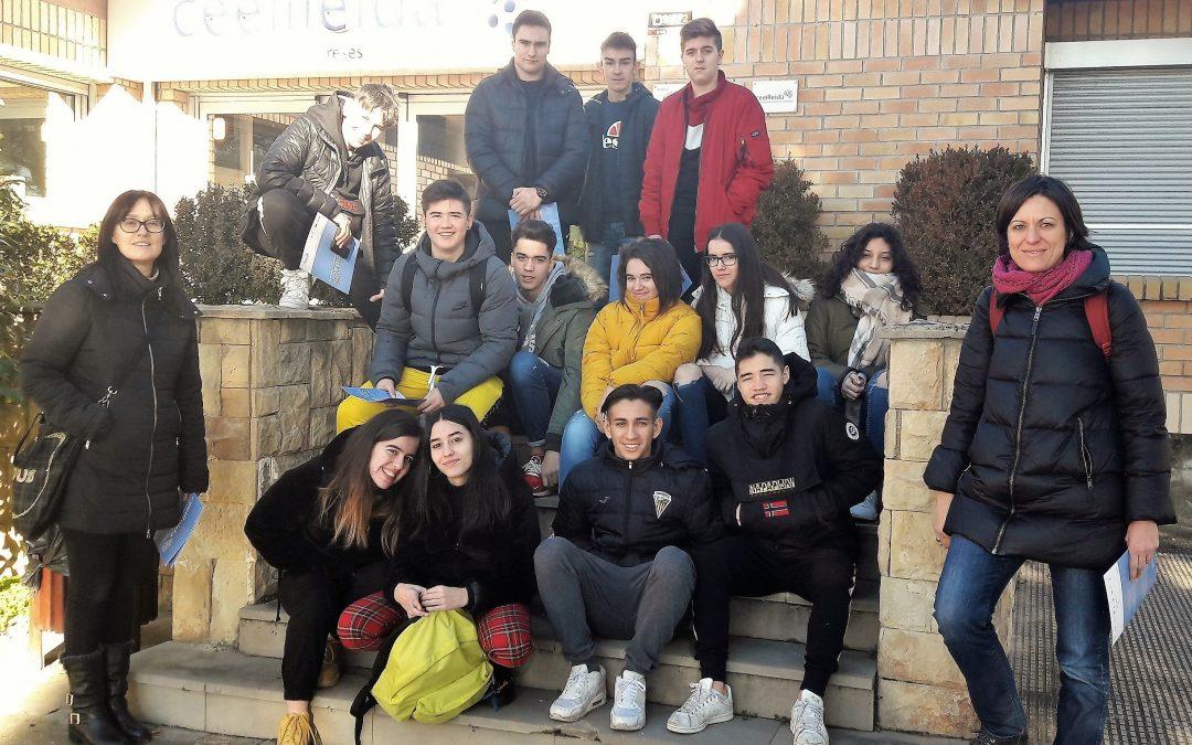 Estudiants de l'IES Joan Oró visiten el CEEILleida