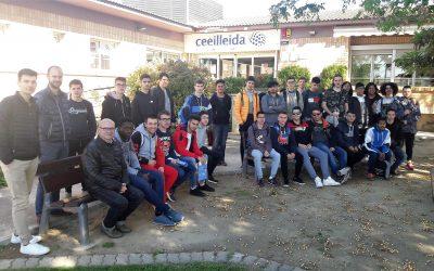 Un centenar de joves visiten el CEEILleida en una setmana
