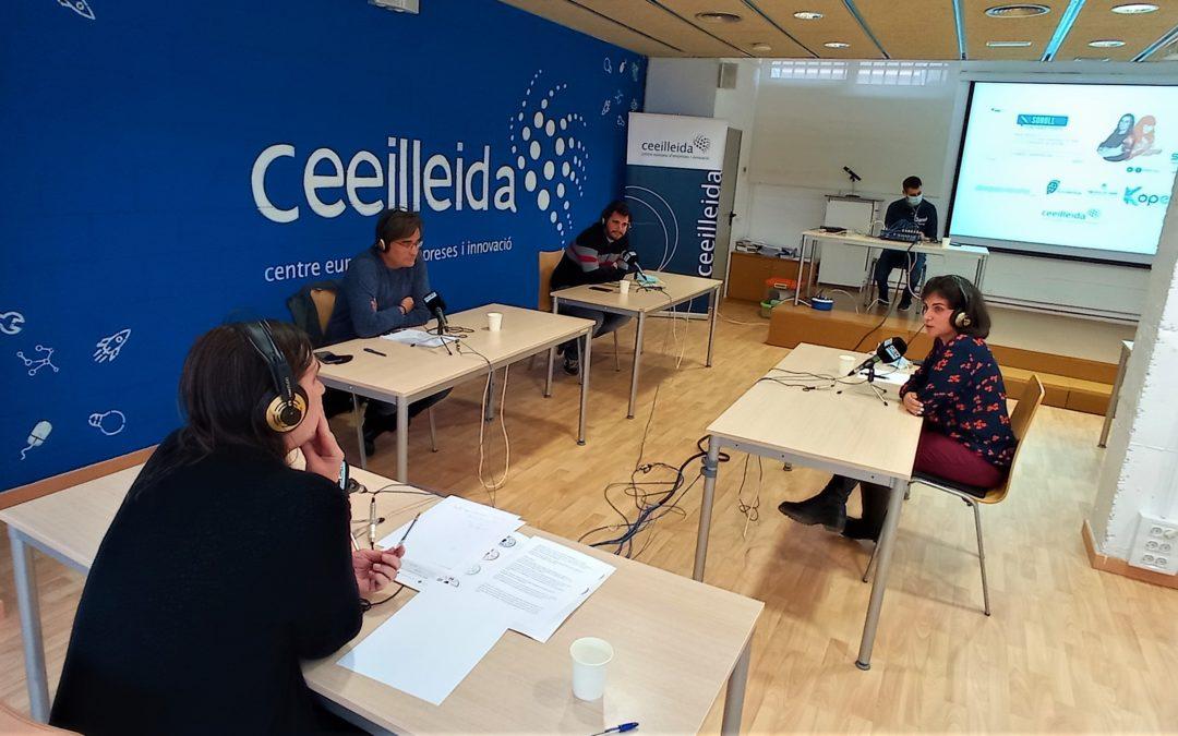 El CEEILleida torna a ser un plató radiofònic, amb l'emissió del programa 'Empresaris' de Ràdio Lleida