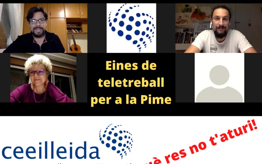 El CEEILleida ofereix la càpsula formativa Eines de teletreball per a la Pime
