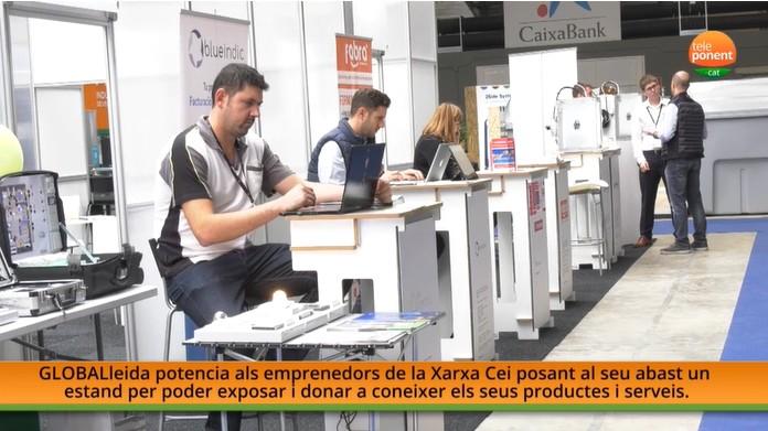 Empreses del CEEILleida i de la Xarxa de CEIs ofereixen els seus productes a Municipàlia