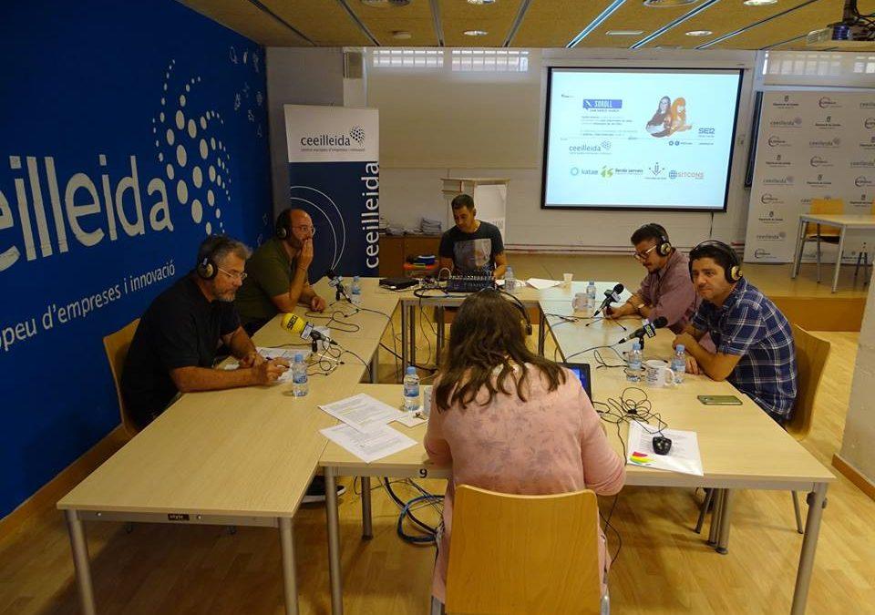 La ràdio torna al CEEILleida amb el programa 'Empresaris' de Ràdio Lleida Cadena-SER