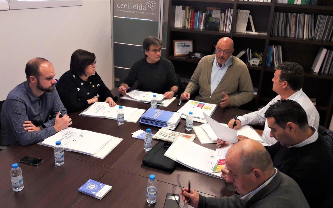 Acord del Consell Directiu del CEEILleida perimpulsarels projectes del Campus CEEI, l'Àgora i el Cafè Emprenedor