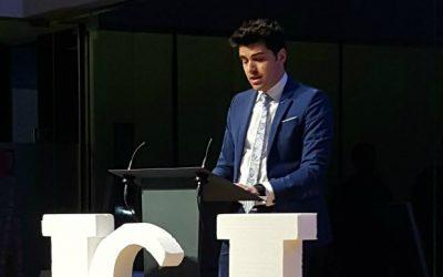 La Jove Cambra Internacional atorga el Premi al Jove Emprenedor a Joan Folguera, d'INTECH3D