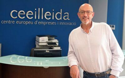 Entrevista de l'Associació Nacional de Centres Europeus d'Empreses i Innovació al director del CEEILleida, Antoni Piñol