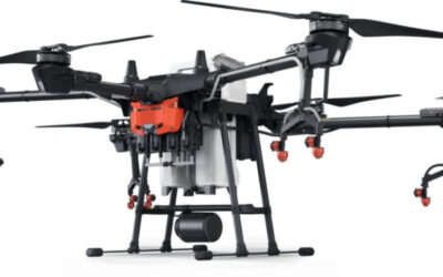 Aerofor i LleidaDrone presenten a la Fira de Sant Miquel un dron de grans dimensions per fumigar camps agrícoles