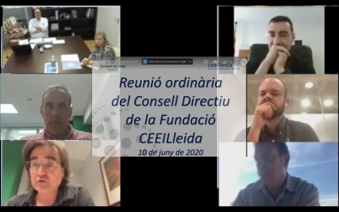 El CEEILleida, amb 124 treballadors entre les 35 empreses instal·lades en el viver, aprova el seu pla de desconfinament