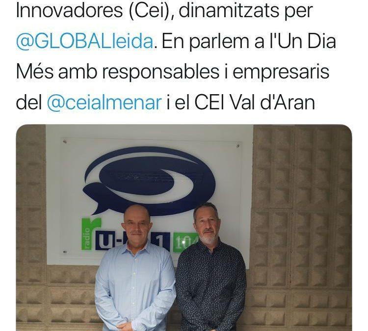 El Cei Almenar i de la Val d'Aran participen en l'espai de GLOBALleida a UA1 Ràdio