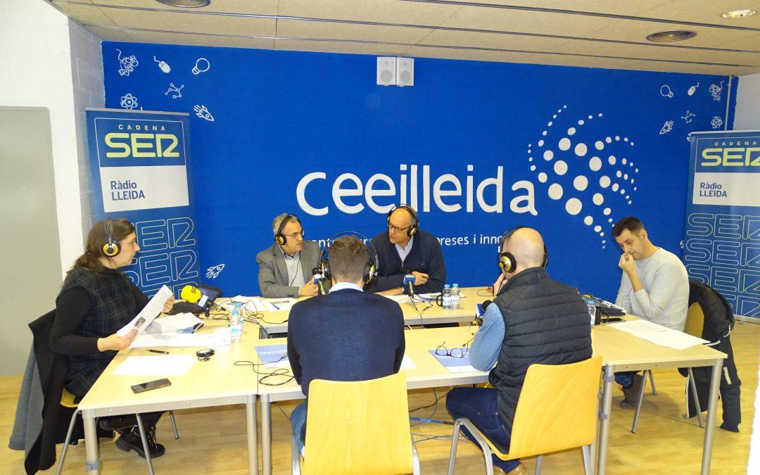 Ràdio Lleida emet el programa Empresaris des del CEEILleida