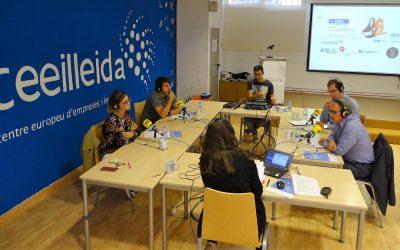 Mente en Blanco, Aerofor, CrossPoint365 i la Cambra de Comerç de Lleida, protagonistes avui a 'Empresaris de Ràdio Lleida-Cadena SER, emès des del CEEILleida