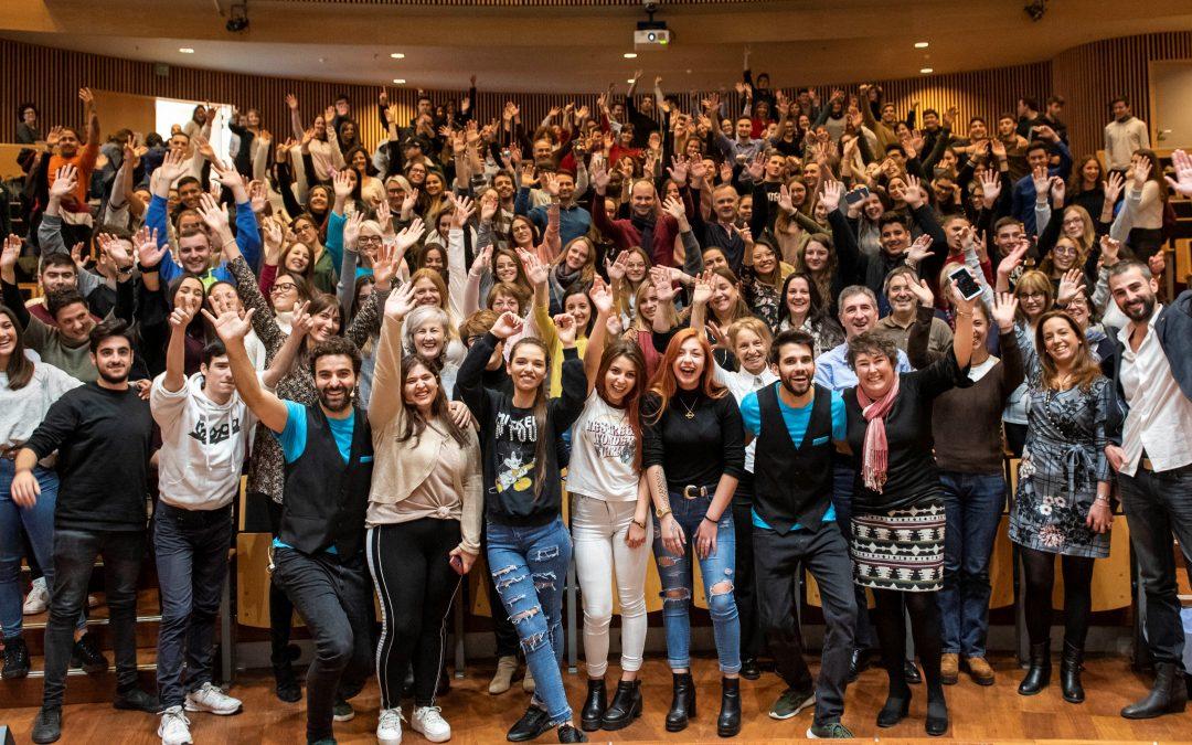 La jornada 'Endavant' captiva a més de 400 joves atrets per l'emprenedoria