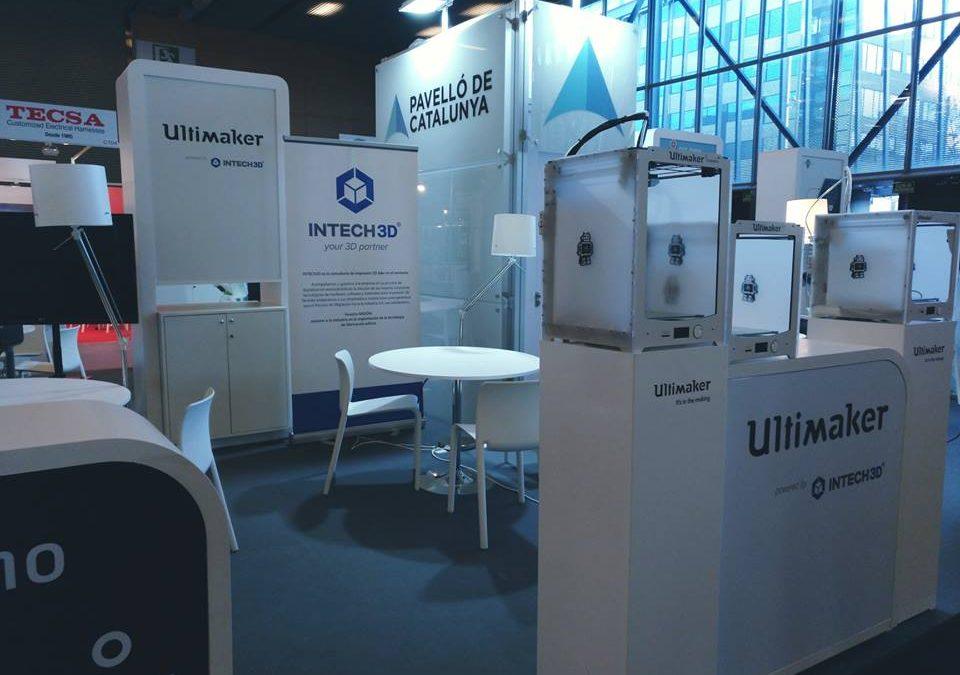 INTECH3D participa en la fira Advanced Factories, un esdeveniment de referència en la innovació del sector industrial
