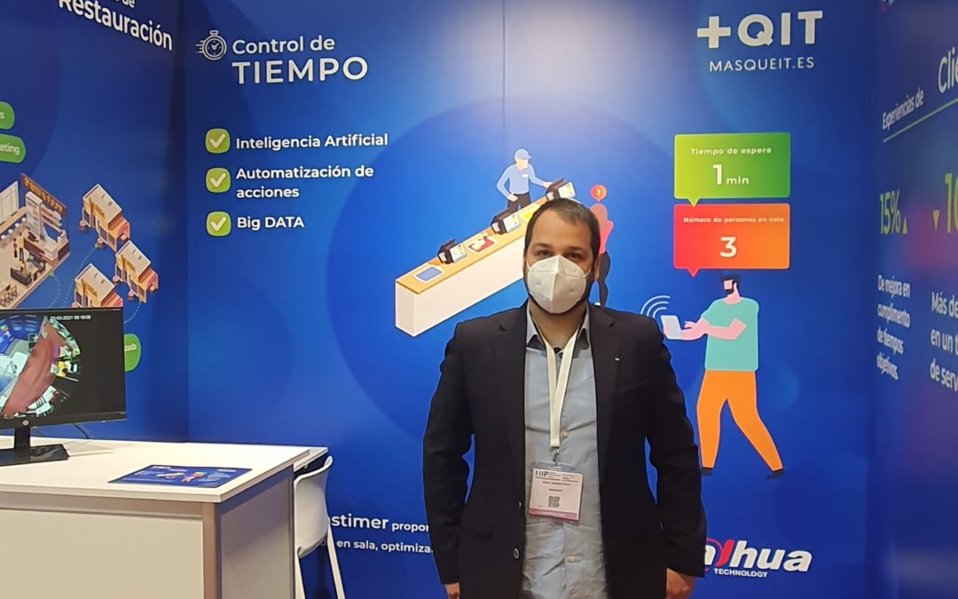 Masqueit exposa a Ifema un aparell d'intel·ligència artificial que ajuda a reduir el temps d'espera dels clients en els establiments de restauració