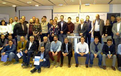 La consellera d'Empresa i Coneixement es troba amb 24 startups del CEEILleida per conèixer els projectes dels emprenedors