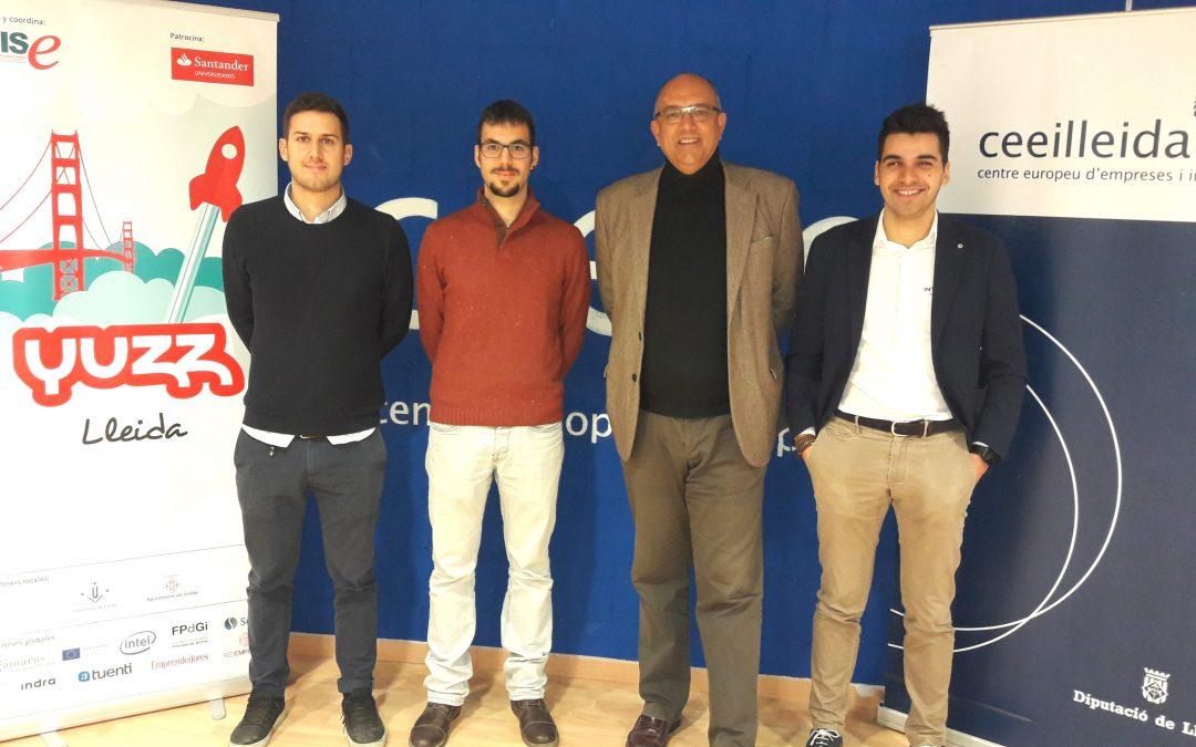 Les empreses guanyadores del programa Santander Yuzz de 2016 i 2017, instal·lades al CEEILleida