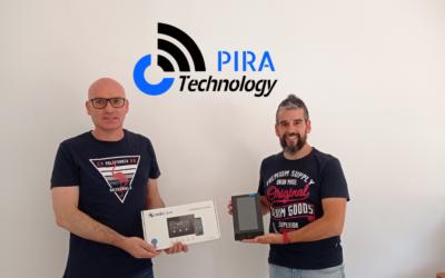 L'empresa del CEEILleida PIRA Technology instal·la un innovador sistema electrònic que permet obrir el portal de casa o de l'empresa des del telèfon mòbil