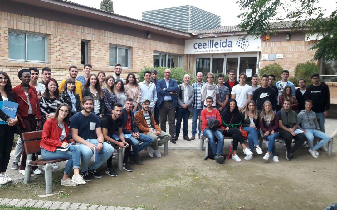 Més de dos-cents estudiants universitaris i de cicles formatius han visitat el CEEILleida en el que portem de 2017