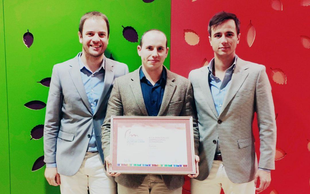 La Paeria distingeix a Blackpier amb el premi a la innovació empresarial comercial