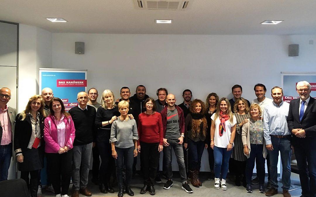 Alemanya, seu de la 4a reunió del projecte europeu EROVET