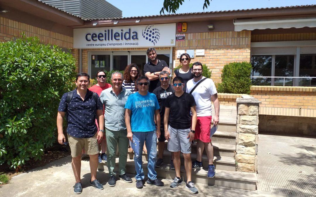 Un grup d'estudiants universitaris de Llatinoamèrica visita el CEEILleida