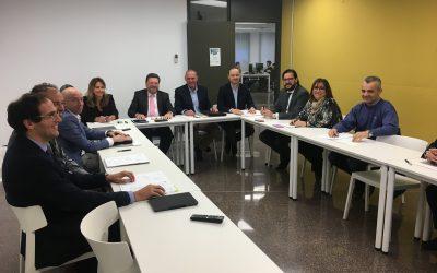 Reunió de la Junta de Govern del Col·legi de Mediadors d'Assegurances de Lleida al CEI Balaguer