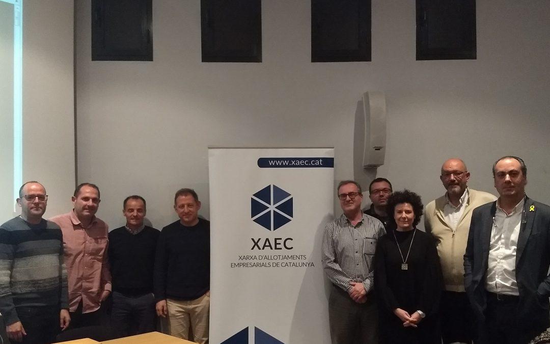 Tremp acull una reunió de la Xarxa d'Allotjaments Empresarials de Catalunya (XAEC)