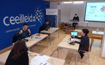 Debat radiofònic al CEEILleida sobre el present i futur de les energies renovables, emès al programa 'Empresaris' de Ràdio Lleida