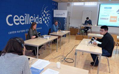 Fabra Formació, Ceimax i ECommerce4China expliquen quina és la seva activitat al CEEILleida en el debat d'Empresaris de Ràdio Lleida
