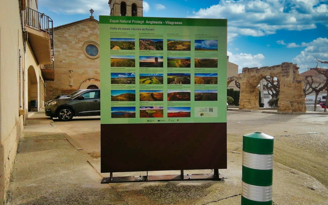 Insitu dissenya una ruta per mostrar l'Espai Natural Protegit d'Anglessola-Vilagrassa