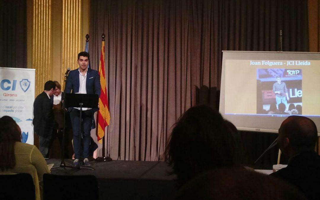 Joan Folguera, de l'empresa INTECH3D, reconegut com un dels 10 Joves Excel·lents de Catalunya