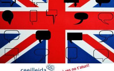 Ets emprenedordel CEEILleida i vols aprendre o millorar l'anglès? Doncs t'ho posemfàcil!!!