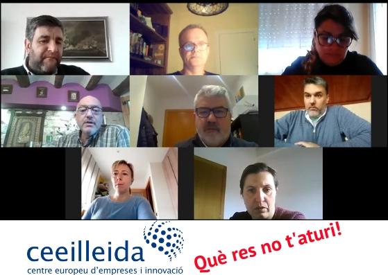 L'equip del CEEILleida, al servei dels emprenedors