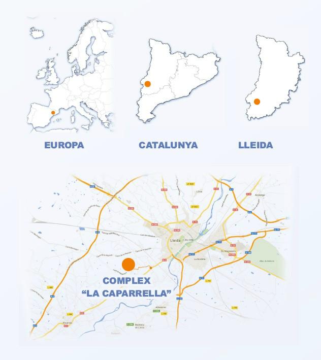 MAPA UBICACIÓ CEEILLEIDA