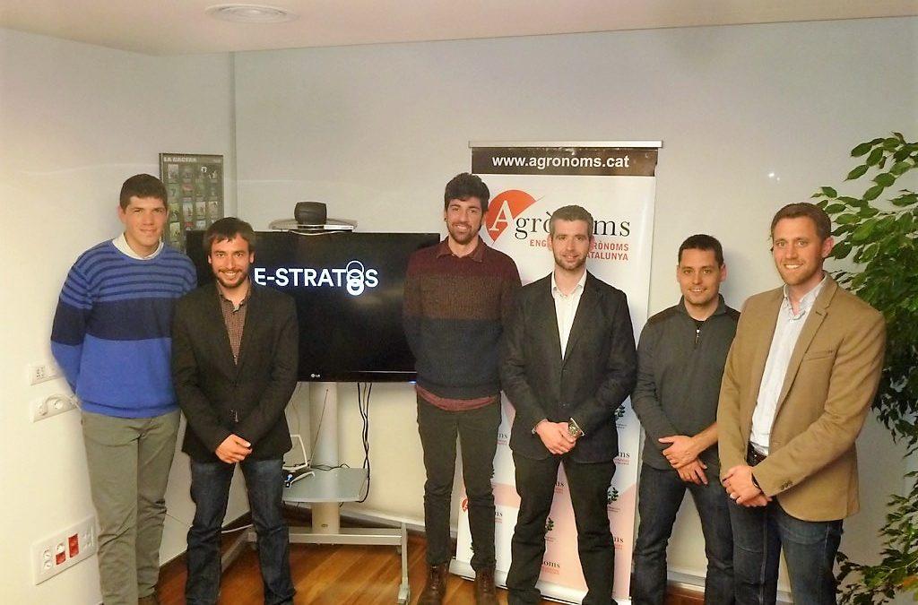 La lleidatana AKIS International, de la Xarxa Cei impulsa la creació de la nova empresa E-STRATOS, Star-up puntera en Agricultura