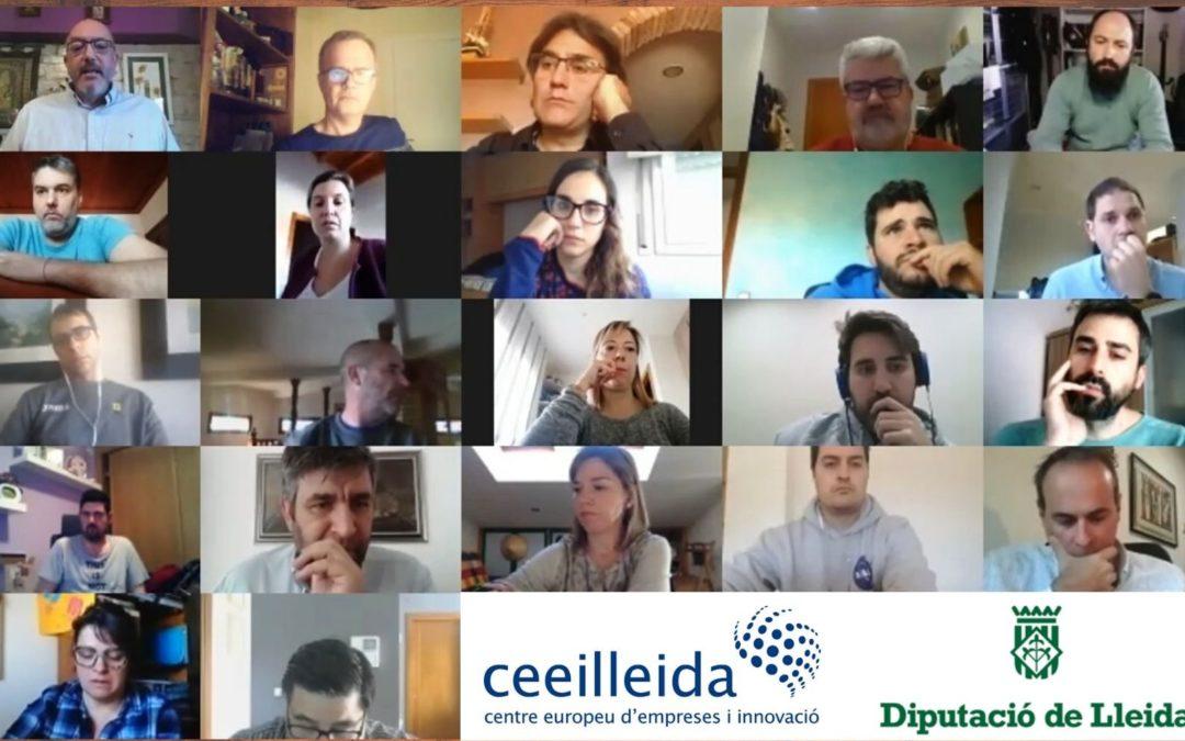 La Diputació de Lleida atén les consultes dels emprenedors del CEEILleida davant els efectes de la Covid-19