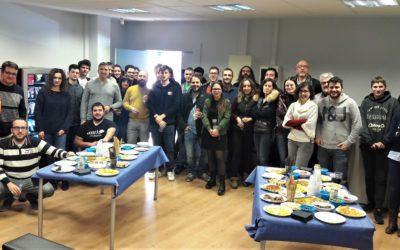 El CEEILleida celebra la torronada amb els emprenedors