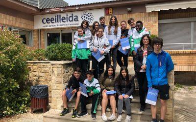 Estudiants de l'Institut Caparrella visiten el CEEILleida
