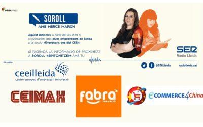 Fabra Formació, Ceimax i 4ECommerce China participen aquestdimecres en el debat d'Empresaris de Ràdio Lleida