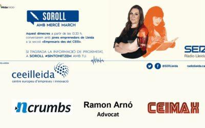 Tot el que has de sabersobre ciberseguretat,en el debat d'Empresarisde Ràdio Lleida, amb l'advocat Ramon Arnó i les empreses Nearcrumbs i Ceimax, del CEEILleida
