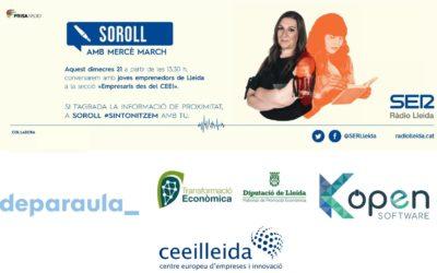 Torna l'emissió des del CEEILleida del programa 'Empresaris', de Ràdio Lleida-Cadena SER