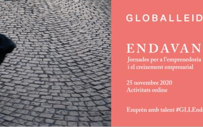 GLOBALLEIDA prepara una nova edició de la Jornada ENDAVANT per a l'Emprenedoria i el Creixement Empresarial