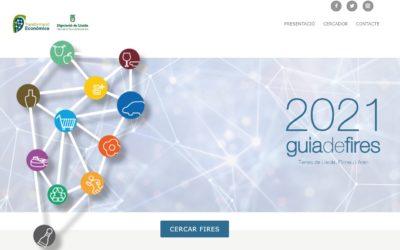 'guiadefires.cat,' una eina digital que permet consultar de manera pràctica, dinàmica i interactiva els esdeveniments firals de les terres de Lleida, Pirineu i l'Aran